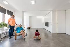 Casas Houzz: Un loft camaleónico que muta con un único gesto