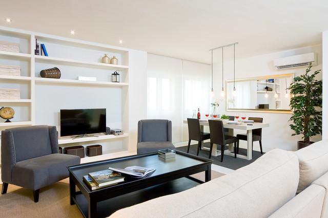 Fotograf a inmobiliaria cl sico renovado sala de estar - De salas inmobiliaria ...