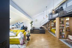 Room Tour: An Ingenious Loft Conversion Packs in Several 'Rooms'
