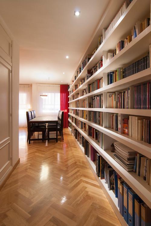 Los amantes de libros - Reforma de vivienda en Boadilla