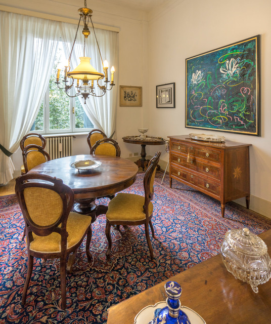 "'900 ""stile liberty"" italian villa - Dining room ..."