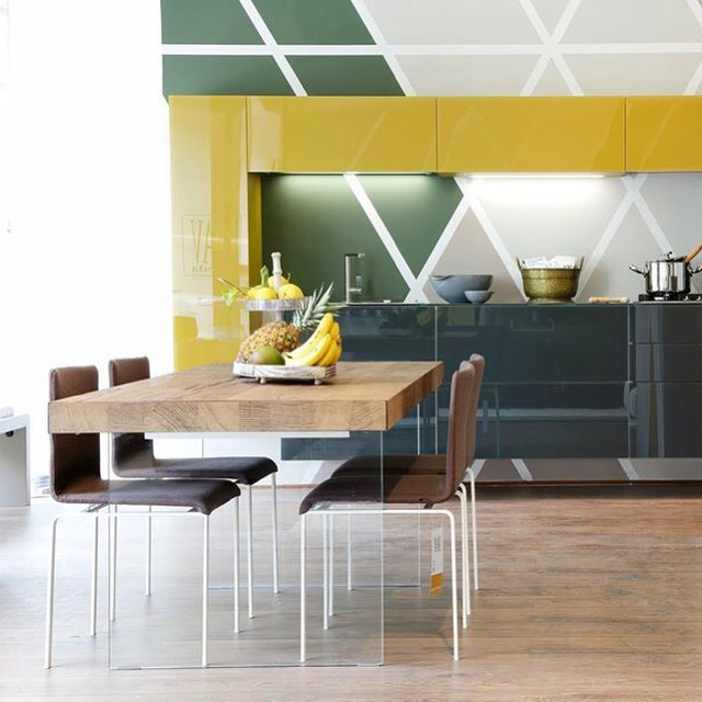 Air wildwood table - Contemporaneo - Sala da Pranzo - Venezia - di