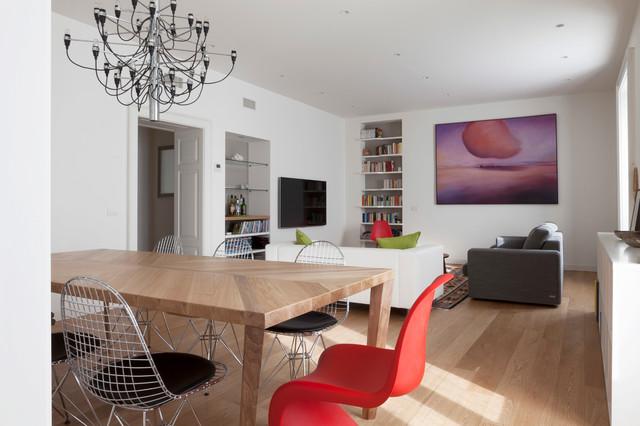 Le Case Di Houzz Due Appartamenti In Uno Per Una Famiglia
