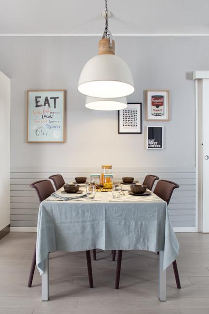Andrea castrignano decorare con stile contemporaneo for Sala da pranzo stile contemporaneo