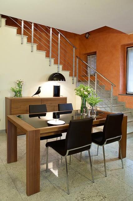 Arredamento Villa Cesano Maderno - Moderno - Sala da Pranzo ...