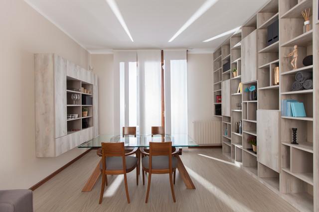 Libreria Il Ponte.Arredo Open Space E Libreria A Ponte Contemporary