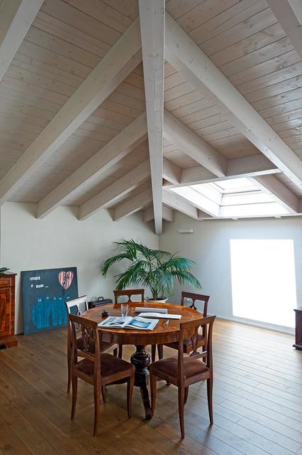 Immagine di una sala da pranzo minimal