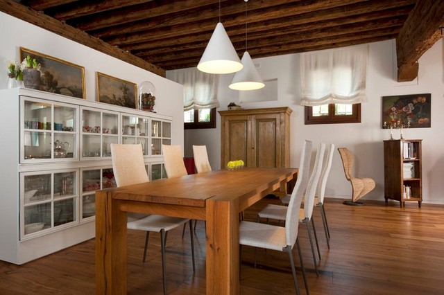 Cucina e arredo completo rustico moderno comedor for Mobili arredo cucina