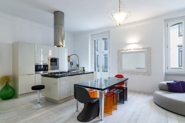 Design Di Interni Milano.Photos Design Apartment Milano Contemporary Dining Room