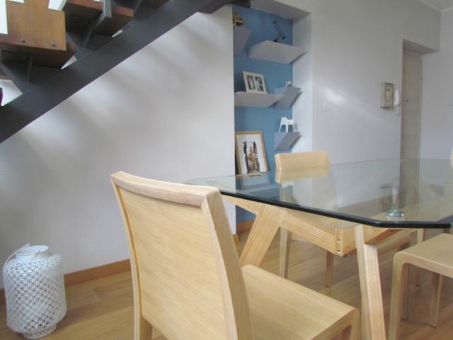 Progettazione e studio colori per nicchia in soggiorno - Scandinavo ...