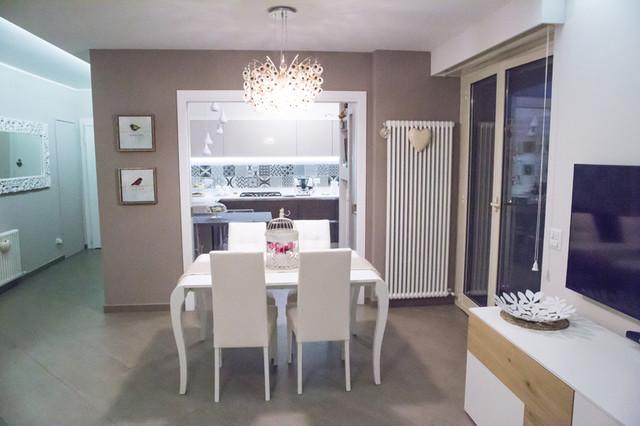 Progettazione ristrutturazione appartamento stile for Stile contemporaneo arredamento