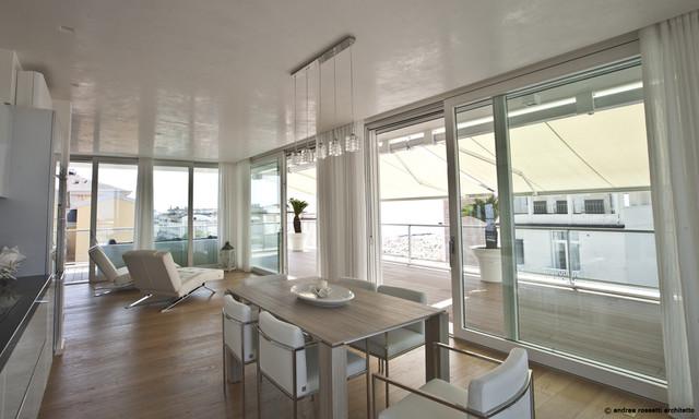 Residenze perla adriatica contemporaneo sala da pranzo for Sala da pranzo stile contemporaneo