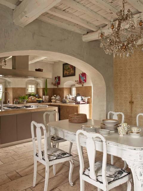 S lucia country house eclettico sala da pranzo for Sala pranzo country