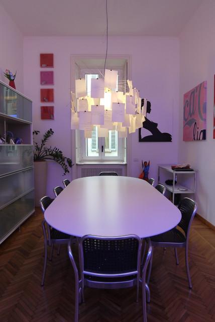 Sala da pranzo contemporaneo sala da pranzo other for Sala pranzo vecchia
