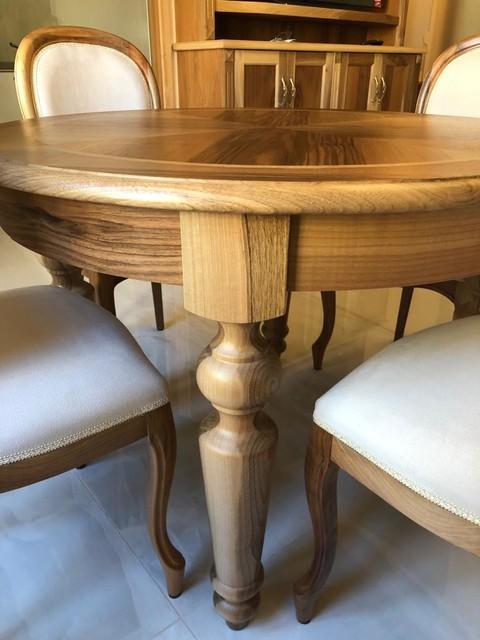 Tavolo rotondo allungabile - Classico - Sala da Pranzo ...