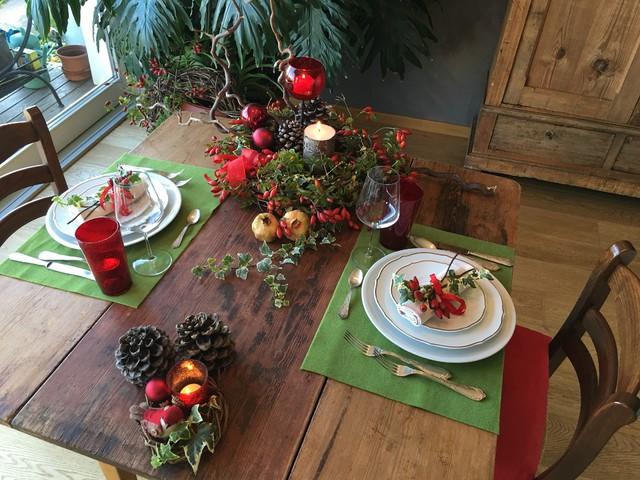 Tempo di natale e la tua tavola rustica - Tavola da pranzo ...