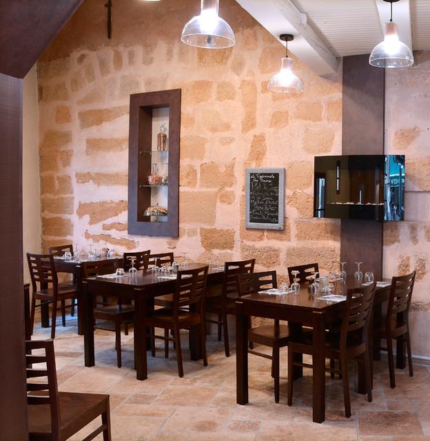 Amenagement D Un Restaurant Moderne Salle A Manger Marseille