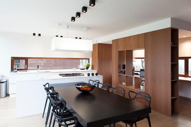 Aménagement intérieur d\'une maison unifamiliale_LIEGE - Contemporary ...