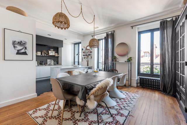 Appartement D 39 Exeption R Nov Clectique Salle Manger Other Metro Par Alexandre