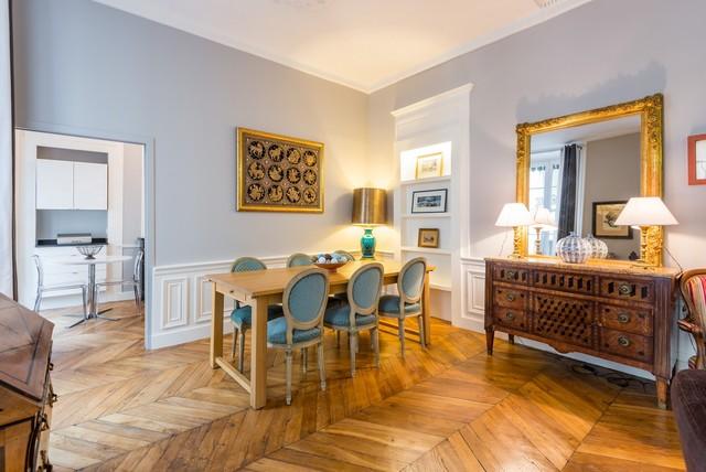 Célèbre Appartement haussmannien - Lyon 2ème - Classique Chic - Salle à  OC26