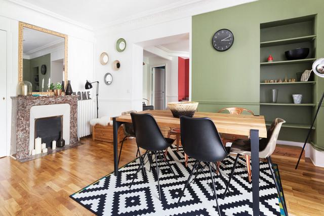 Charmant Appartement Industriel Chic U0026 Moderne 55m2 75010 Paris   Contemporain    Salle à Manger   Paris   Par Espaces à Rêver