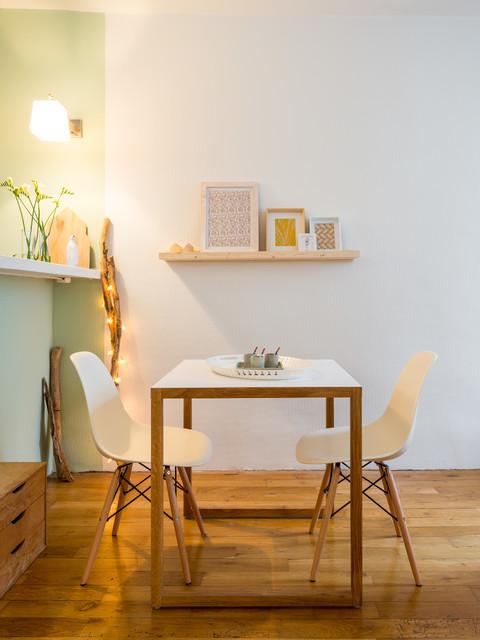 Appartement loft ouvert lyon scandinave salle manger lyon par aur lien vivier - Salle a manger loft ...