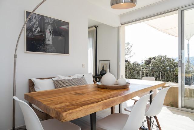 Appartement nice cimiez contemporain salle manger for Appartement design nice