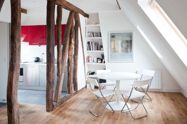 appartement paris ii contemporain salle manger paris par yves mahieu spoutnik. Black Bedroom Furniture Sets. Home Design Ideas
