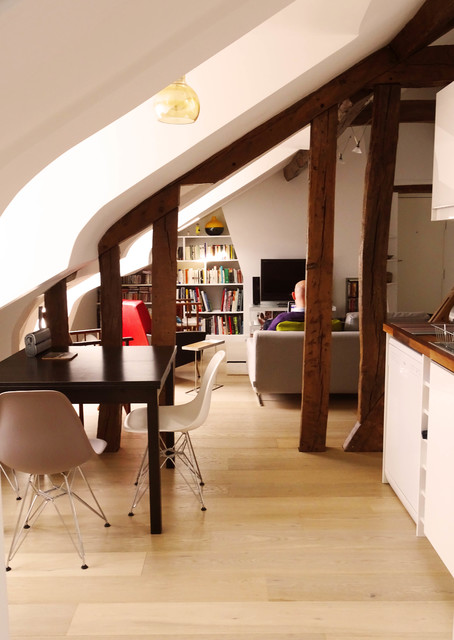 appartement sous combles Paris0 - Country - Dining Room - Other - by ...