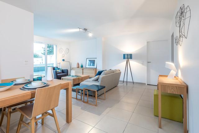 appartement t moin bouygues immobilier contemporain salle manger grenoble par. Black Bedroom Furniture Sets. Home Design Ideas