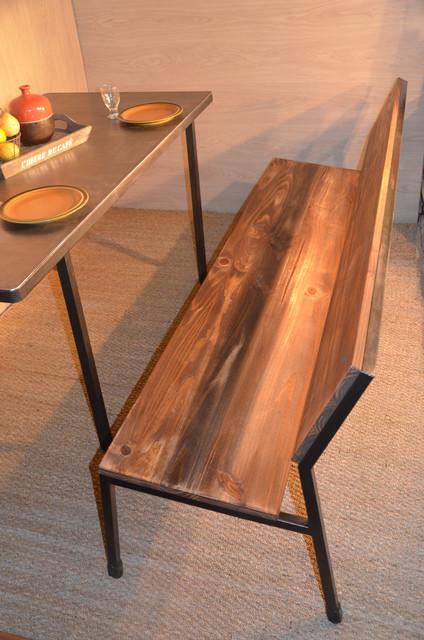 assises chaises bancs tabourets industriel salle manger nantes par hewel mobilier. Black Bedroom Furniture Sets. Home Design Ideas
