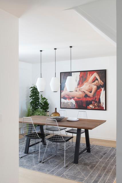 Atelier Daaa, SAINT JACQUES LOFT - Modern - Esszimmer ...