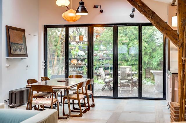 Création d\'une grande ouverture sur le jardin et Rénovation ...