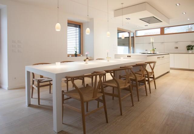 Cuisine b3 ain r alisation bulthaup espace de vie - Table a manger cuisine ...