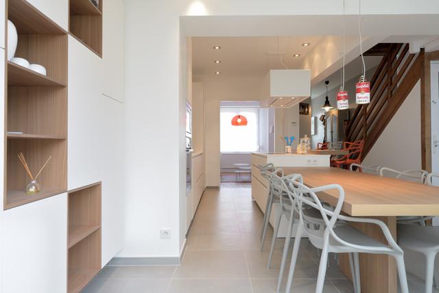 Cuisine le touquet contemporain salle manger lille - Carre blanc lille ...