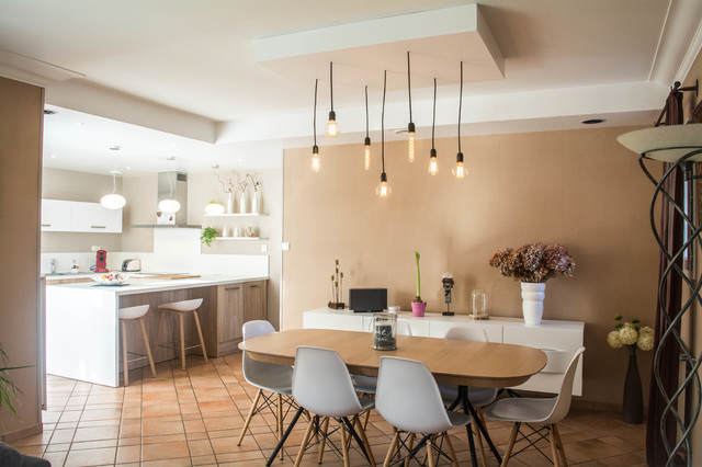 cuisine; salle à manger - Modern - Dining Room - Angers - by AM ...
