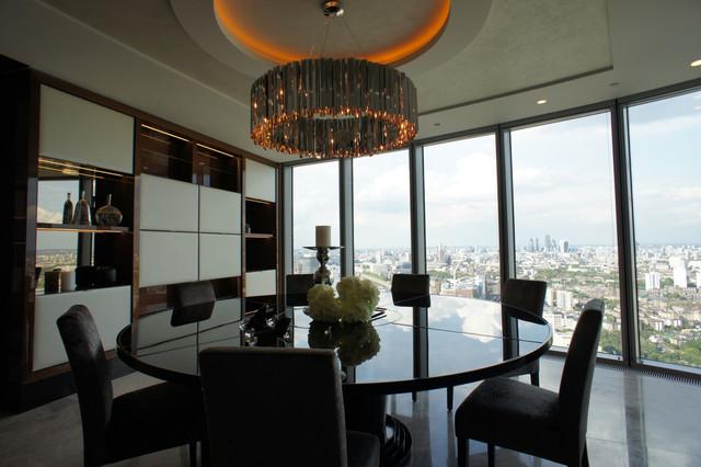 D coration d 39 un appartement londres projet the tower for Appartement design londres