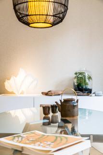 D coration d 39 un appartement neuf dans le programme cheverus asiatique salle manger - Meubles asiatiques bordeaux ...