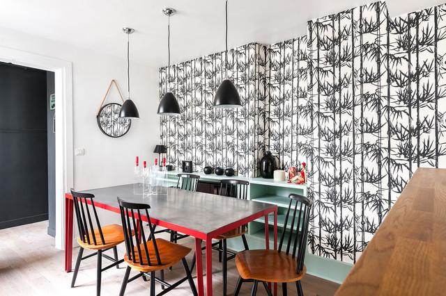 Duplex République contemporary-dining-room