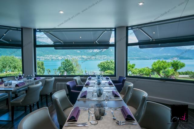 Hôtel Beauregard - Lac d\'Annecy - Contemporain - Salle à Manger ...
