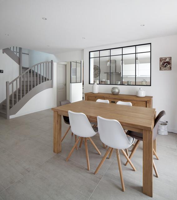 inspiration cocon contemporain salle manger paris par prisca pellerin architecture. Black Bedroom Furniture Sets. Home Design Ideas