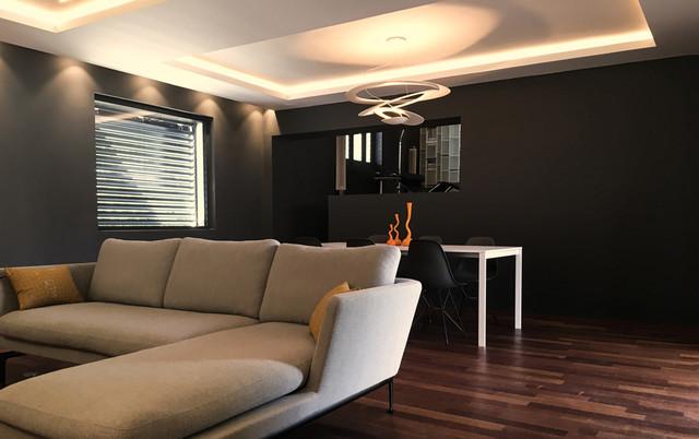 Intérieur maison de ville - Modern - Esszimmer - Lyon - von ...