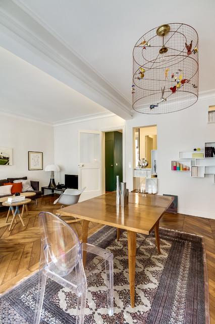 Jardin du Luxembourg  Paris 6e  Appartement privé de 50m2  Modern