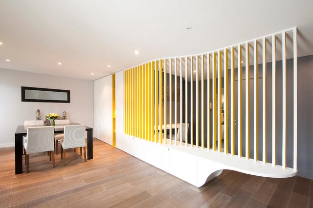 La paroi ondulée - Contemporary - Dining Room - Paris - by Gaëlle ...