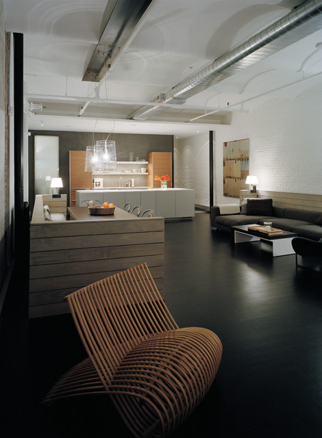 Loft soho new york city by martin raffone modern for Loft soho new york