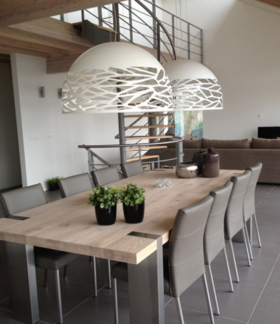 Beautiful luminaires salle a manger ideas design trends for Luminaire suspension sejour