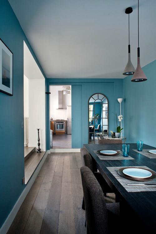 salle manger on ose la dco en couleurs - Couleur Tendance Salle A Manger