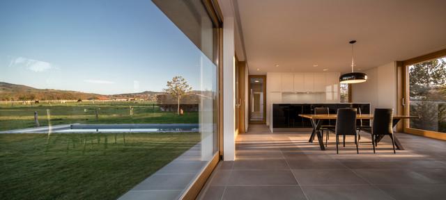 maison d contemporain salle manger paris par dda devaux devaux architectes. Black Bedroom Furniture Sets. Home Design Ideas