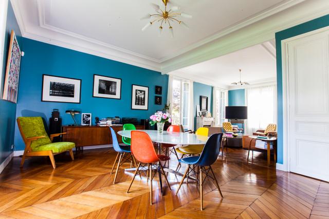Maison familiale fontenay sous bois contemporain for Salle a manger haussmannien