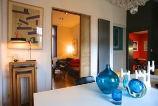 maison particuli re orl ans pour le magazine edith contemporain salle manger other metro. Black Bedroom Furniture Sets. Home Design Ideas